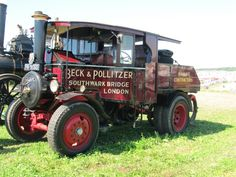 Foden steam lorry at Dorset Steam Fair 2016