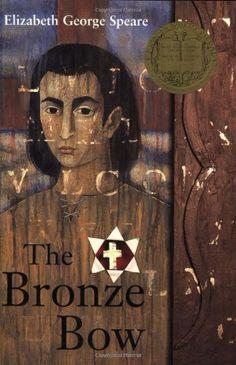 The Bronze Bow by Elizabeth George Speare,http://www.amazon.com/dp/0395137195/ref=cm_sw_r_pi_dp_sNBbsb01WQRFH3WD