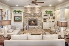 Stunning Living Room Design With Farmhouse Style 24 #homedecorideaslivingroom