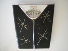 Vintage-1950s-MCM-Atomic-Sputnik-Starburst-Black-Chrome-Borg-Bathroom-Scale