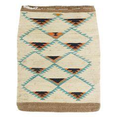 "Nez Perce cornhusk. Cornhusk on cornhusk and linen on cornhusk.PERIOD: Circa 1900ORIGIN: Nez Perce, IdahoSIZE: 17""x21"""