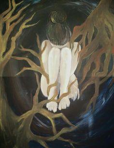 Nightmare,  acrylic on canvas