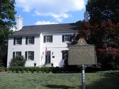 President Zachary Taylor's home, Springfield in Kentucky.