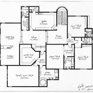 تصميم منزل دور واحد مساحه 400 Model House Plan Architectural House Plans House Layout Plans