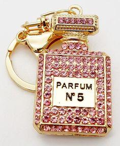 a0ed4f9b2d82 Adojewello Jewelry Rhinestone Crystal Twinkling Perfume Bottle Keychain  Keyring Gift For Girls Handbag Chram Wholesale
