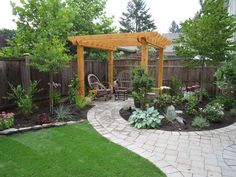 For those who enjoy sitting outside in the summer, a pergola is always a solid decision for the backyard.