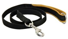 Dean  Tyler Padded Puppy Brown Padding Single Ply Dog Leash with Black Ring on Handle and Stainless Steel Snap Hook 4Feet by 34Inch *** Details can be found by clicking on the image.(This is an Amazon affiliate link and I receive a commission for the sales)