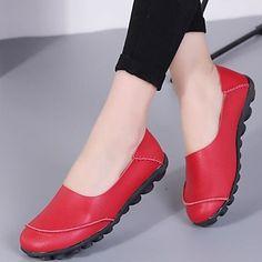 3 colores de moda para mujer Otoño e invierno Botas de caña alta con cordones cómodos Botas de piel de vaca de la vendimia Botones laterales de bandag
