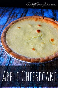 The MOST Amazing Dessert Recipe - if you love cheesecake you will LOVE this recipe. The recipe is from a vintage recipe box - Apple Cheesecake Recipe – Marie Recipe #marie #marierecipe # apple #dessert #cheesecake #easydessert #recipe #easyrecipe #easycheesecake #budgetsavvydiva via budgetsavvydiva.com
