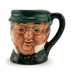 Royal Doulton Tiny Character Jug, Mr. Pickwick D6260, Tiny