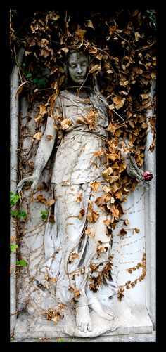 """love is a rose #1"" by Thomas Lieser on Flickr - An Art Nouveau Statue, Vienna, Austria"