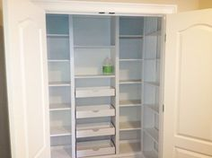 Hall Closet Pantry Design Ideas, Pictures, Remodel and Decor