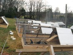 Rabbit Tractor Raised Beds – Spellcast Farm and Photography Rabbit Pen, Rabbit Farm, Rabbit Cages, Meat Rabbits, Raising Rabbits, Meat Chickens, Backyard Farming, Chickens Backyard, Rabbit Habitat