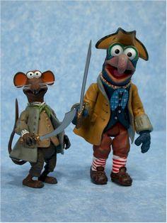 puppets   muppets   gonzo & rizzo