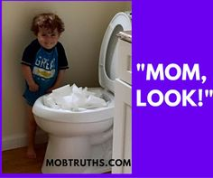M.O.B. Truths:: Ever wonder if a full roll of toilet paper would f...