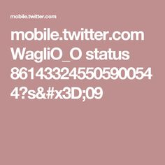 mobile.twitter.com WagliO_O status 861433245505900544?s=09