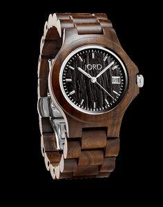 Ely Series Wood Watch by JORD http://www.woodwatches.com/series/ely?utm_content=buffer58911&utm_medium=social&utm_source=pinterest.com&utm_campaign=buffer#24