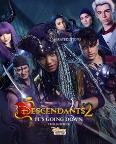 It's Going Down | Descendants 2 | : RayB.™ ‏@RayEdiitions