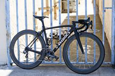 """Sick S-Works.  Wish the """"S-Works"""" was black, too.  Beautiful Bicycle: Garrett Chow's Specialized"""