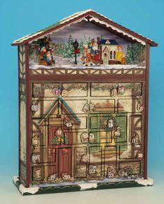 80 delightful geman advent calendars images german christmas vintage christmas advent calendar. Black Bedroom Furniture Sets. Home Design Ideas