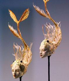 Thoughts on using Kato Polyclay — Forest Rogers Modern Sculpture, Sculpture Art, Metal Sculptures, Surrealism Sculpture, Baroque Sculpture, Abstract Sculpture, Arte Obscura, Paperclay, Air Dry Clay