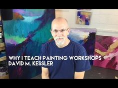 "The Painting of ""Jewel Tones 2"" by David M. Kessler - YouTube"