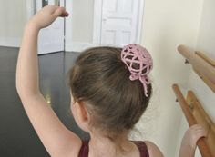 bun cover  *lovely easy pattern for your little Princess <3