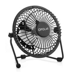 OPOLAR Mini USB Table Desk Personal Fan Metal Design Quiet Operation 39 USB Cable High Compatibility Black -- Read more at the image link. (This is an affiliate link and I receive a commission for the sales) Portable Desk, Portable Fan, Portable Charger, Sierra Leone, Ghana, Belize, Mini Desk Fan, Window Fans, Metal Design