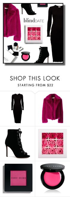 """""""Blind Date"""" by gracecar3 ❤ liked on Polyvore featuring H&M, Dries Van Noten, Gianvito Rossi, FOREO and Bobbi Brown Cosmetics"""