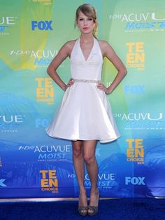 Halter Short Celebrity Dresses By Taylor Swift [10120968] - US$109.99 : DressKindom