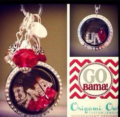 For all you Alabama Lovers...this one is for you!  Order online today at www.deeriley.origamiowl.com and/or follow me on Instagram driley.origamiowl