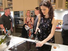 The Gourmet Belle Wine Circle Launch - serving up some great boutique wine!