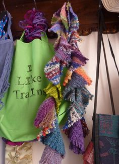 Ravelry: Project Gallery for Sea Lettuce Scarf 468 pattern by Lucy Neatby