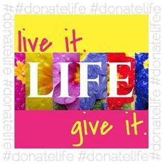 #donatelife