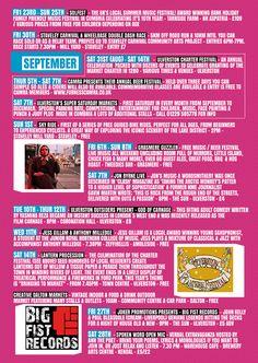 Cumbria Culture Event Listing guide
