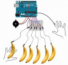 Connecting Arduino to banana