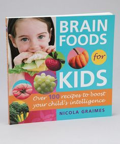 Award-winning health and nutrition writer Nicola Graimes shows how better, brighter foods can help little ones' growing brains! Filled with over 100 irresistible, easy-to-prepare recipes for breakfasts, lunches, dinners and snacks that develop memory, improve concentration and optimize learning capabilities, this book has essential information on the link between foods and brain development. A weekly pull-out menu planner, guide to food intolerances, food storage tips and mealtime scheduling…