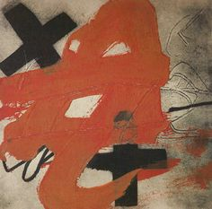 AT by Antoni Tapies, 1985