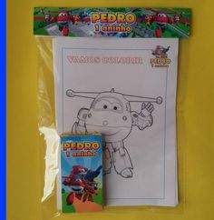 Kits Para Colorir super wings