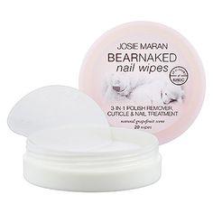 Bear Naked Nail Wipes - Josie Maran | Sephora