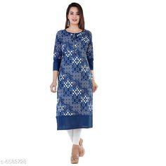 Kurtis & Kurtas Women's Printed Cotton Kurti Fabric: Cotton Sleeve Length: Three-Quarter Sleeves Pattern: Printed Combo of: Single Sizes: S (Bust Size: 18 in Size Length: 36 in)  XL (Bust Size: 21 in Size Length: 42 in)  L (Bust Size: 20 in Size Length: 40 in)  M (Bust Size: 19 in Size Length: 38 in)  XXL (Bust Size: 22 in Size Length: 44 in) Country of Origin: India Sizes Available: S, M, L, XL, XXL   Catalog Rating: ★4 (433)  Catalog Name: Women Cotton A-line Printed Orange Kurti CatalogID_1048977 C74-SC1001 Code: 892-6583728-237