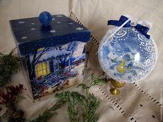 """Короб для Рождественских сладостей """"Домашний уют"""" Зоя Чернышова Подарки для души"""