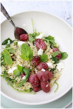 Quinoa and Roasted Grape Salad- Whole Promise