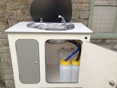 Camper Van Sink With Manual Pump Home Away From Home