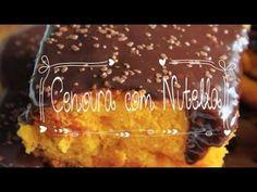 Bolo de Cenoura com Nutella