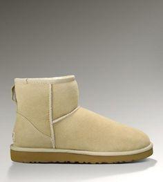 Women Australia Boots Classic Mini 5854 Sand