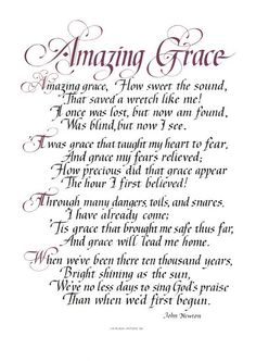 """'Amazing Grace' by John Newton """"How sweet the sound, That saved a wretch like me!"""" John Newton, a gruff and bawdy slave trader, wrote this hymn after being transformed by the power of amazing grace. The Words, Christian Songs, Christian Quotes, Bible Quotes, Me Quotes, Bible Songs, Bible Scriptures, Soli Deo Gloria, Gods Grace"""