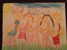 A drawing by Mya, 6 years old • Art My Kid Made #kidart