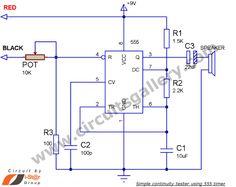 F Dcc C B on Continuity Tester Circuit Diagram – Electronicshub Org