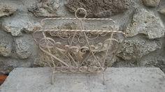 French Vintage / Porte-Revues Fer Forgé / Vintage wrought iron de la boutique SoPrettyJoliVintage sur Etsy